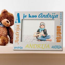 Azbuka poklon ram za slike