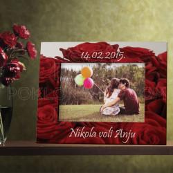 Latice ruža poklon ram za slike