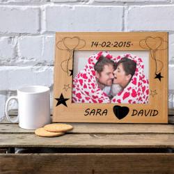 Ljubav medju zvezdama poklon ram za slike