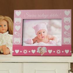 Srećno rođenje deteta poklon ram za slike