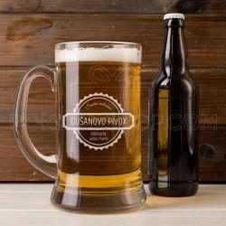 Srećan rođendan poklon čaša za pivo