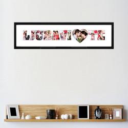 Ljubavi Volim Te poklon ram sa slikama