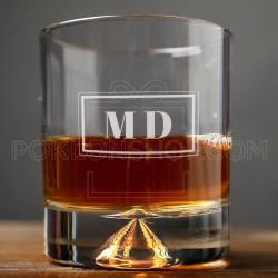 Inicijali poklon čaša za viski