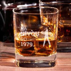 Igrač na nivou poklon čaša za viski