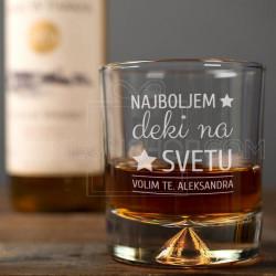Najboljem deki na svetu poklon čaša za viski
