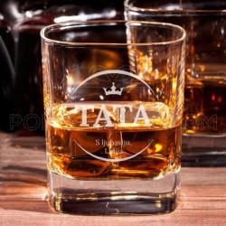 Tata kralj poklon čaša za viski