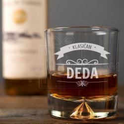 Klasičan deda poklon čaša za viski