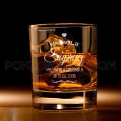Najbolji suprug poklon čaša za viski