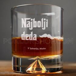 Najbolji deda poklon čaša za viski