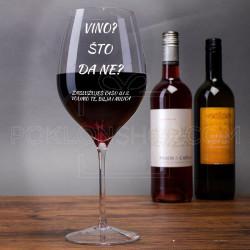 Času ili dve poklon čaša za vino