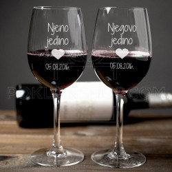Datum poklon čaše za vino
