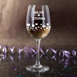 Par poklon čaša za vino