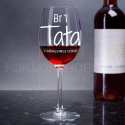 Najbolji tata poklon čaša za vino