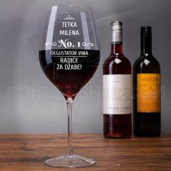 Degustator vina poklon čaša za vino