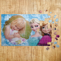 Gift Puzzle Elsa and Anna