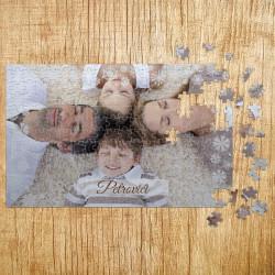 Poklon puzzle pahuljice