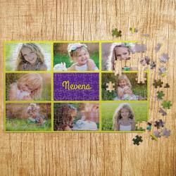 Poklon puzle Kolaž od 8 fotografija