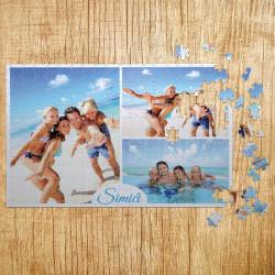 Poklon puzle porodični kolaž