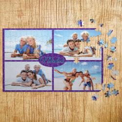 Poklon puzle Kolaž od 4 fotografije