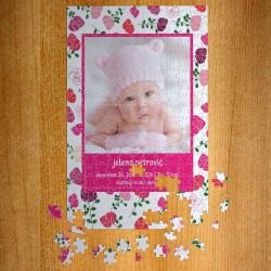 Poklon puzzle ružice