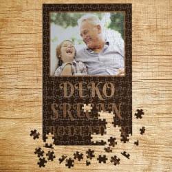 Poklon puzzle Deko srećan rođendan