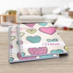 Šarena srca poklon dnevnik