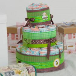 Beba poklon torta od pelena