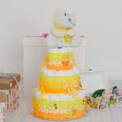 Plišana igračka poklon torta od pelena