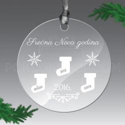 Nova Godina poklon ukras