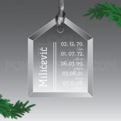 Datumi rođenja poklon ukras