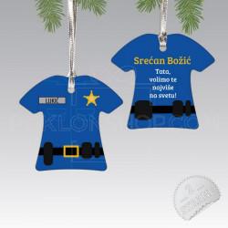 Policajac poklon ukras