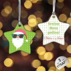 Cool Deda Mraz poklon ukras