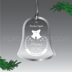 Zvonce za Novu Godinu poklon ukras