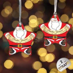 Naš Deda Mraz poklon ukras