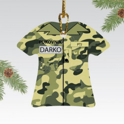 Maskirana uniforma poklon ukras