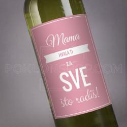 Mama hvala ti za sve poklon vino