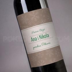 Srećan Božić poklon vino