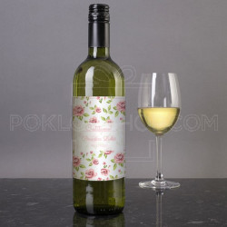 Čestitka poklon vino