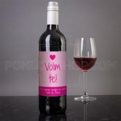 Tebe volim ja poklon vino