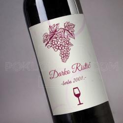 Poklon vino sa tvojim imenom