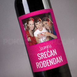 Srećan rodjendan poklon vino