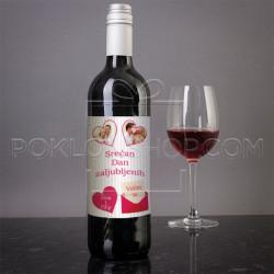 Pismo ljubavi poklon vino