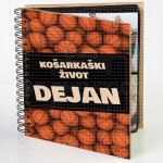 Košarkaški život poklon album za slike