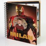 Iron man u akciji poklon album za slike