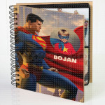 Moj Supermen poklon album za slike