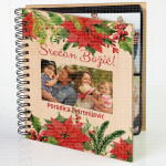 Božićni album poklon album za slike