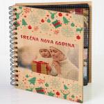 Novogodišnji praznici poklon album za slike