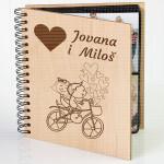 Bicikl ljubavi poklon album za slike