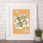 Najbolja majka poklon kolaž od 4 fotografije