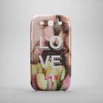 Ljubav poklon maska za mobilne telefone